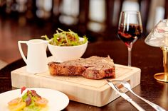 Steak Club in London - 28oz Porterhouse, classic combination of tender sirloin and fillet on the T bone