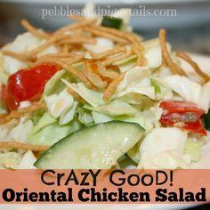 Pebbles & Piggytails: Oriental Chicken Salad