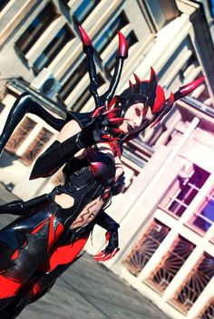 Elise Cosplay, League of Legends Cosplay,classic