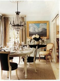 love the cream and black color scheme-would look great with a pop of color
