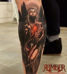 Seleção das melhores ideias de tatuagens na panturrilha, tanto para homens como para mulheres. Desenhos fantásticos realizados por grandes tatuadores. Entre aqui e inspire-se!