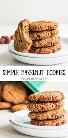 Amazing Simple Hazelnut Cookies that are quick to make and bursting with flavour.