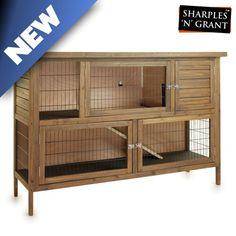 Rabbit Hutch Plans, Large Rabbit Hutch, Rabbit Hutches, Ferret Cage, Kitchen Island Bench, Rabbit Cages, Wooden Kitchen, Indoor, Cabinet