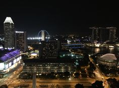 #night #view #singapore #love #travel #layover #cabincrew
