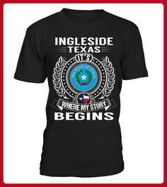 Ingleside Texas My Story Begins - Shirts für singles (*Partner-Link)