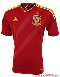 adidas Spain Home Jersey 2012-2013...$71.99