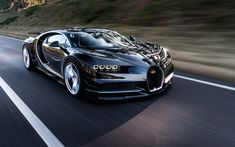 General 2560x1600 Bugatti Chiron Super Car  vehicle car road motion blur