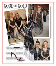 """2017 Paris Fashion Week: Rodarte Resort 2018 Presentation~ Brie Larson"" by snugget9530 ❤ liked on Polyvore featuring Rodarte and Christian Louboutin"
