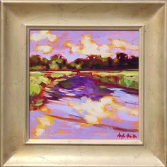 Hobcaw Creek, Mount Pleasant, South Carolina. Painting by Betty Anglin Smith, Anglin Smith Fine Art (http://anglinsmith.com/)