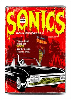 Sonics. Art by Spiegelsaal...