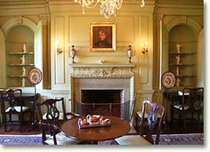southern home interiors pictures | copyright © Mount Harmon Plantation