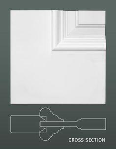 Some Interior Decorating Ideas For Better Living – Modern Home Furniture Door Frame Molding, Panel Moulding, Moulding Profiles, Door Design Interior, Wall Decor Design, Wooden Door Hangers, Wooden Doors, 5 Panel Doors, Kitchen Cabinet Door Styles