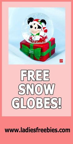 FREE SNOW GLOBES AGAIN!!!!! Check it out on ladiesfreebies.com! Please like, repin and share! Thanks! #snowglobe Save Your Money, Free Samples, Snow Globes, Baby Kids, Thankful, Babies, Check, Babys, Baby