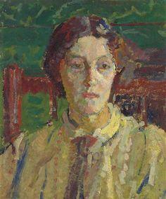 Harold Gilman, Portrait of Mrs Whelan