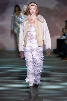 Marc-Jacobs-Collection-Fall-2014-Collection-Colorblock-Floral-Gown-NYFW-Fashion