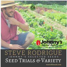Steve talks #permaculture #landstewardship & #seedtrials