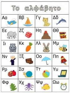 το αλφάβητο Preschool Letters, Alphabet Activities, Summer Activities, Preschool Education, Preschool Worksheets, Early Education, Germany Language, Learn Greek, Greek