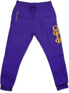 Big Boy Omega Psi Phi Divine 9 Mens Jogger Sweatpants [Purple - M] Mens Joggers Sweatpants, Jogger Pants, Omega Psi Phi, Mens Activewear, Fraternity, Big Boys, Jogging, Active Wear, Purple