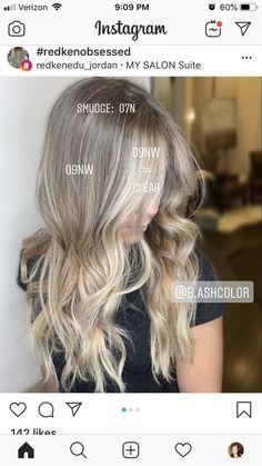Fall Hair Colors, Cool Hair Color, Redken Hair Color, Aveda Color, Hair Styles 2016, Curly Hair Styles, Hair Glaze, Redken Hair Products, Hair Color Formulas