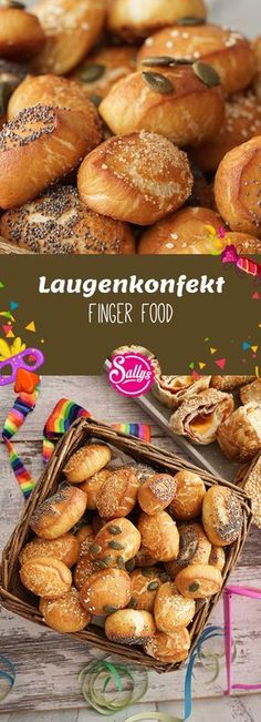 Small, fine lye pastry for a cold or warm buffet. # Carnival # carnival - New Site Party Sweets, Snacks Für Party, Appetizers For Party, Karneval Snacks, Buffet Frio, Waffle Bar, Gourmet Breakfast, Party Finger Foods, Party Buffet