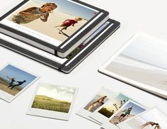 Moleskine + Milk // Photo Books. Good way to commemorate a special trip or event