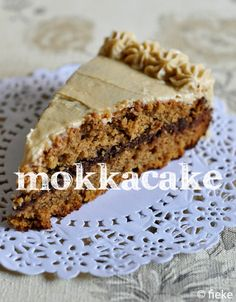 Coffee Cake // by Fiekefatjerietjes Cake & Co, Pie Cake, No Bake Cake, No Bake Desserts, Vegan Desserts, Sweet Pie, Brownie Cake, Pie Dessert, Vegan Treats