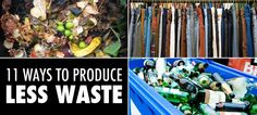Here's how you can give the landfills a little less to hold. #garbage #waste #environment