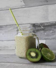 Yum. Key Lime Pie Smoothie recipe made with Kura.