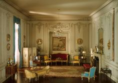 Mrs. James Ward Thorne American, 1882-1966  E-21: French Boudoir of the Louis XV Period, 1740-60, c. 1937  Miniature room, mixed media Inter...