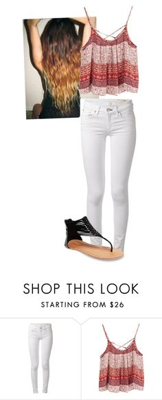 """""""Untitled #58"""" by mayaforever3 ❤ liked on Polyvore featuring rag & bone and Wet Seal"""