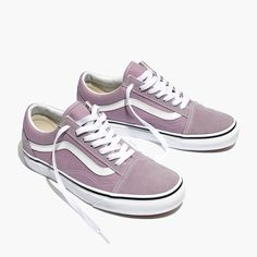 d10de575647e Madewell Womens Vans Unisex Old Skool Lace-Up Sneakers In Sea Fog http
