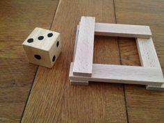 Gezelschapsspel: samen een schoorsteen bouwen                * Rekenspel met Kapla!