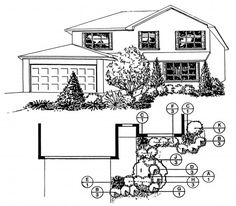 Rain and snow are going to play a huge part in your yard landscaping decisions. For example you will have to plan for your yard landscaping with care. Landscaping Near Me, Landscaping Software, Tropical Landscaping, Landscaping Ideas, Landscape Drawings, Cool Landscapes, Landscape Plans, Landscape Design, Landscape Architecture
