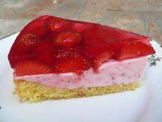 Lehký želatinový dort