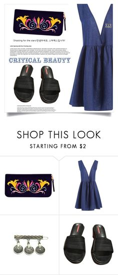 """""""Make Me Burn"""" by violet-peach ❤ liked on Polyvore featuring Prada"""