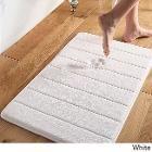 Super Soft and Absorbent Memory Foam 21x34 Bath Mat (white), Size 21 x 34