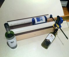 How to make an adjustable bottle cutter. Step by step instructions on how to build it.