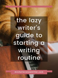 Have you tried starting a writing routine, but not been able to keep it? Try again with my ultimate guide to starting a writing routine. You'll learn how to write consistently and be happy with your work. Writing Lab, Writing Advice, Creative Writing Prompts, Writing About Yourself, Have You Tried, Make Time, Writers, Literacy, Routine