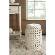 Safavieh Lacey Garden Stool, Multiple Colors