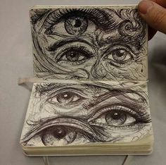 drawings and eyes image Art Journal Inspiration, Art Inspo, Arte Sketchbook, Art Hoe, Art Drawings Sketches, Dope Art, Aesthetic Art, Oeuvre D'art, All Art