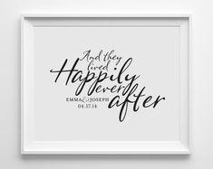 Personalized wedding art prints, Personalized wedding gifts, Personalized wall decor for weddings