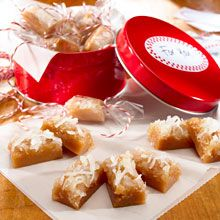 What do you get when you combine the sweet flavor of chewy caramels with the silky tropical taste of coconut? The perfect sweet ending to any meal! Treat your palate to these sweet holiday desserts!