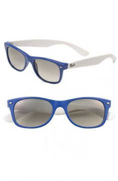 66afba1e024a39 Ray-Ban  New Small Wayfarer  Sunglasses (Nordstrom Exclusive Colors) in Sea