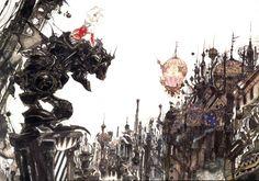 Yoshitaka Amano - Final Fantasy VI
