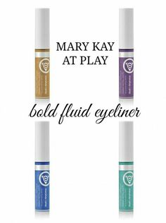 At play bold  liquid fluid eyeliner.