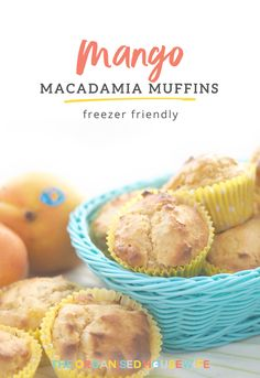 These Mango Macadamia Muffins are super delicious and moist with a delightful crunch of macadamia. Your chance to win 1 of 3 Mr KP Mango trays with Apron and Recipe cards.