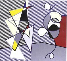 Roy Lichtenstein - Two Figures (1978)