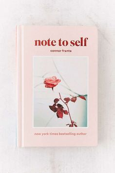 Slide View: 1: Note To Self By Connor Franta