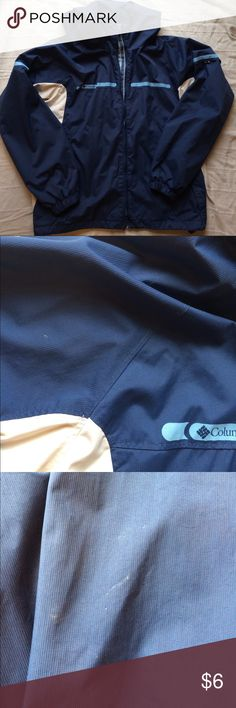 Columbia Women's Jacket Women's Columbia jacket - XL. GUC with a few very small marks on sleeves (see photos). This is an excellent, packable, lightweight jacket. Columbia Jackets & Coats