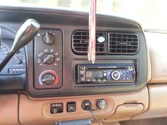 Installed An Aftermarket Radio Dodge Dakotadodge Durango
